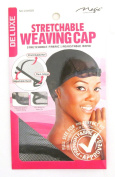 Magic Collection 6-pack Stretchable Weaving Cap #2269str Adjustable Band Stretch Net Flexi-wings Full Size for the Perfect Fit with Premium Fabric