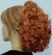 DAWN Clip On Hairpiece by Mona Lisa - 27C Light Ginger