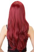 Rabbitgoo Heat Resistant Beautiful Long Kermesinus Straight Full Cosplay Red Wig
