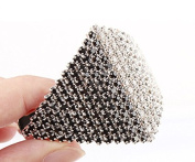 Ecloud ShopUS® alloy White Black Rhinestone Beaded Rhombus Pyramid HairBand Hair Band