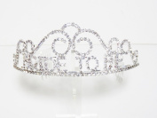 "Rhinestone ""Bride to Be"" Tiara Hair Bridal Accessories Jewellery"