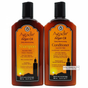 Agadir Argan Oil Daily Moisturising Shampoo & Conditioner 12.4 Fl. Oz. / 366 mL