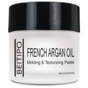 Argan Oil Texturizing Creme Semi- Matte Finish No Flaking or Stiffness Pliable Hair Care Styling Aid
