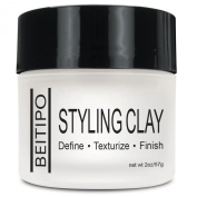 Styling Clay Pomade to Define, Texturize, Make Hair Feel Fatter Hair Care Aid