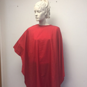 Shampoo Hair Cutting Salon Cape Red
