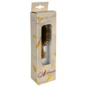 Ambassador Hairbrush, Olivewood Mini, Wood Pins, 1 Hairbrush by Ambassador