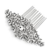 USABride Vintage Rhinestone Bridal Back Hair Comb 2267
