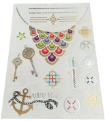 Colour Metallic Tribal Jewellery Tattoos Tribal Royal Sailor Spirit