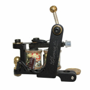 Redscorpion Custom Cast Iron Frame Liner Coil Tattoo Machine Gun