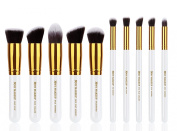 XMY Makeup 10pcs Makeup Brush Sets Professional Cosmetics Brushes Eyebrow Eye Brow Powder Lipsticks Shadows Make up Tool Kit