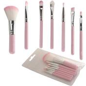 FUNOC® 7 Pcs Makeup Brush Eye & Face Set Brushes Cosmetic Brush Tool Pink