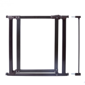 Evenflo Walk-Thru Clear Panel Metal Pressure Gate