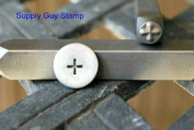 Brand New Supply Guy 4mm Plus Sign Metal Punch Design Stamp