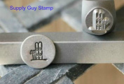 Brand New Supply Guy 7mm Ski Metal Punch Design Stamp