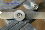 Brand New Supply Guy 5mm Sand Dollar Metal Punch Design Stamp