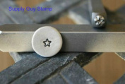 Brand New Supply Guy 3mm Rounded Corner Star Metal Punch Design Stamp