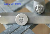 Brand New Supply Guy 7mm Owl Metal Punch Design Stamp
