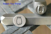 Brand New Supply Guy 8mm Mason Jar Metal Punch Design Stamp