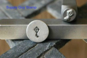 Brand New Supply Guy 5mm Kite Metal Punch Design Stamp