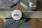 Brand New Supply Guy 5mm Arrow Metal Punch Design Stamp
