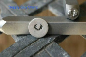 Brand New Supply Guy 5mm Antler Metal Punch Design Stamp