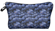 Blueberry Cosmetic Makeup Pencil Bag Case Clutch Pouch Purse Zipper Handbag