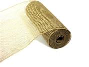 Jute Burlap Mesh 25cm Natural JUTE 10yd Roll