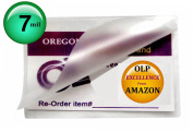 Oregon Lamination Premium Hot 7 Mil Luggage Tag size Laminating Pouches With NO Slot (Pack of 100) 2-1/2 x 4-1/4 Clear