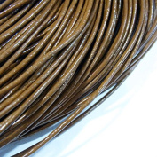 1.5mm Genuine Leather Cord Light Coffee Colour 40m String 4006 Knotting Stringing