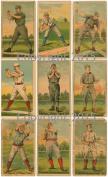 Vintage Large Baseball Card Print Images Collage Sheet 104 Scrapbooking, Labels, Altered Art, Decoupage