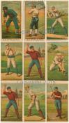 Vintage Large Baseball Card Print Images Collage Sheet 101 Scrapbooking, Labels, Altered Art, Decoupage
