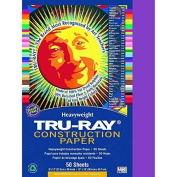 Riverside Paper Tru-Ray(R) Construction Paper, 23cm . x 30cm ., Magenta Colour