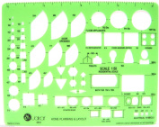 Jakar Stencils Templates Architectural Templates Drawing Aid 20 Designs New