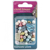 Great Create Christi Friesen Freshwater Pearls, 30ml, Multicolor