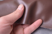 """0,7mm Solid Faux Leather Fabric for Purses Crafts,fake Leather for Home Decor Furniture Upholstery Application,bags/purses Leather,zakka Leather 54"""" Wide,sold By Half Yard"""