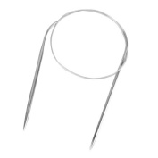 Click Down 11pcs 43cm Stainless Steel Circular Knitting Needles 1.5mm-5.0mm