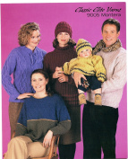 Classic Elite Yarns Knitting Pattern Leaflet #9005 Montera