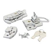 Bluemoona 5 PCS - Toggle Case Catch Latch Trunk Closure Box Chest Suitcase Bag Lock