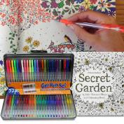 A.I. Friedman 52 Gel Pen Set w/Secret Garden Colouring Book