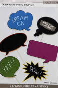 K & Company Chalk It Now Chalkboard Photo Prop Kit ~ Write-On Surface