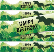 Birthday Stickers for Water Bottles   Set of 24  