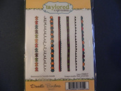 Taylored Expressions Stamps ~ Doodle Borders - Brand New!!!