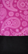 O3 Kids Fleece Multifunctional Headwear Sport Scarf, Purple Paisley