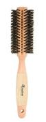 Creative Hair Brushes Classic Round Sustainable Wood, Medium, 80ml