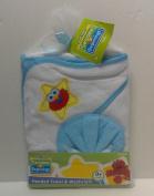 Sesame Street Sesame Beginnings Hooded Towel & Washcloth