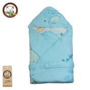 Kosbon 39.4*100cm Unisex Baby Winter Thinkened Swaddle Blanket , Cute Pig and Lucky Rabbits Partten Infant Wrapsack Blanket , Nursery Swaddling Blankets , Best Gift for 0-6 Monthes