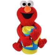 Sesame Street Elmo with 100cm x 130cm throw