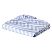 Circo Woven Chevron Fitted Baby Crib Sheet