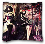Soft Pillow Case Cover Anime Pillowcase Cover 41cm x 41cm One Side suitable for Full-bed
