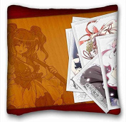 Custom Anime Pillowcase Cover 41cm x 41cm One Side suitable for King-bed